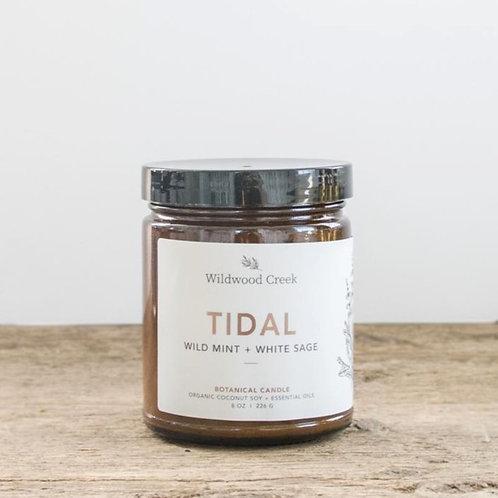 Tidal Candle | 8oz | Wildwood Creek