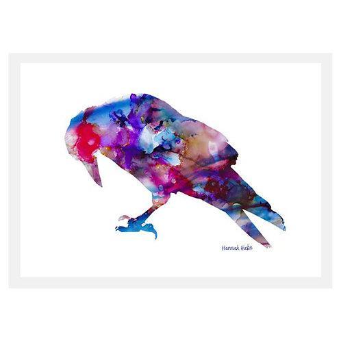 Crow Card | Hannah Hicks