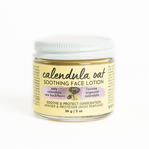 Soothing Face Lotion | Calendula Oat | Verv Skin