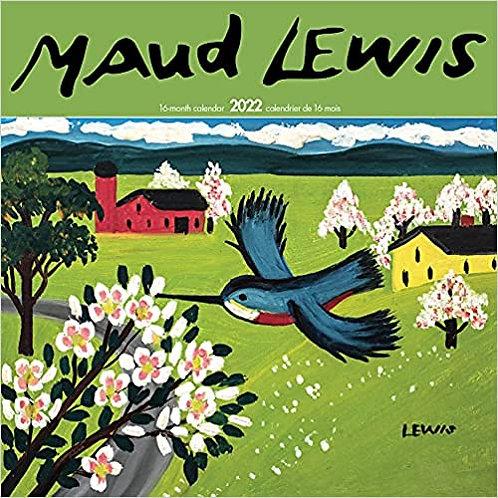 Maud Lewis 2022 Mini Wall Calendar   Nimbus Publishing