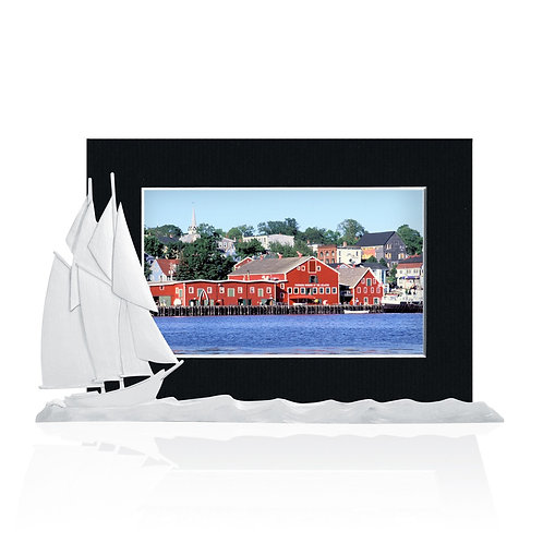 Bluenose Picture Holder | Amos Pewter