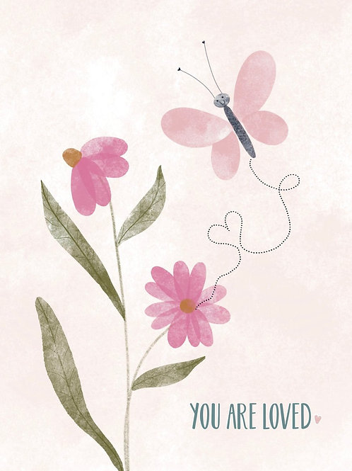 You are Loved Card | Poplar Paper Co.