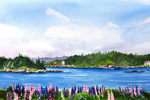 Across the Way- Original Painting | Pat Shattuck
