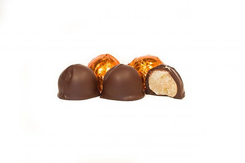 Maple + Ginger Truffles in Dark Chocolate | Appleton Chocolate Co.
