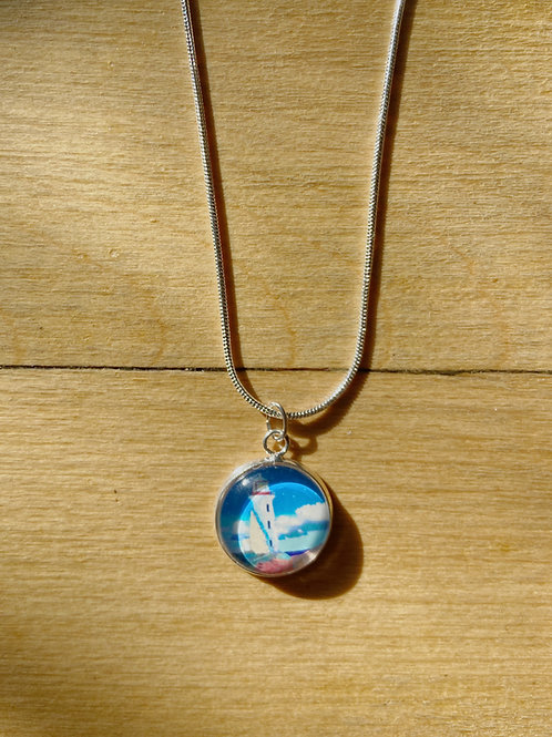 Lighthouse Collage Necklace | Susan Corbin