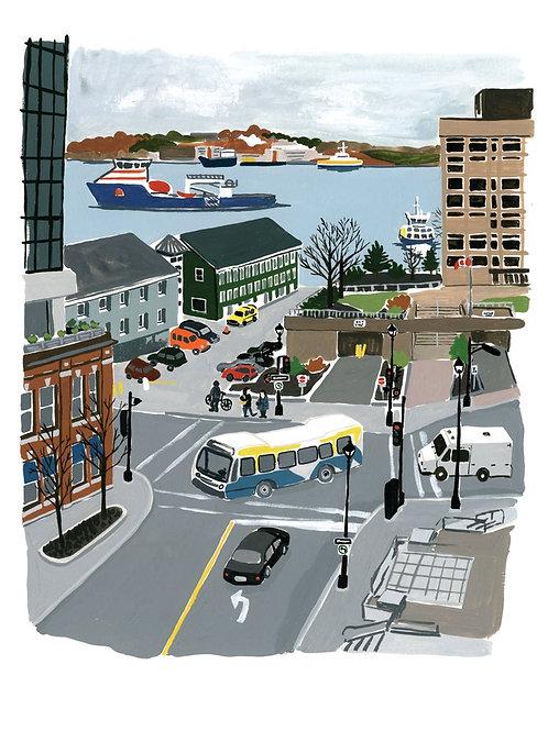 Halifax Harbour | 8x10 | Kat Frick Miller