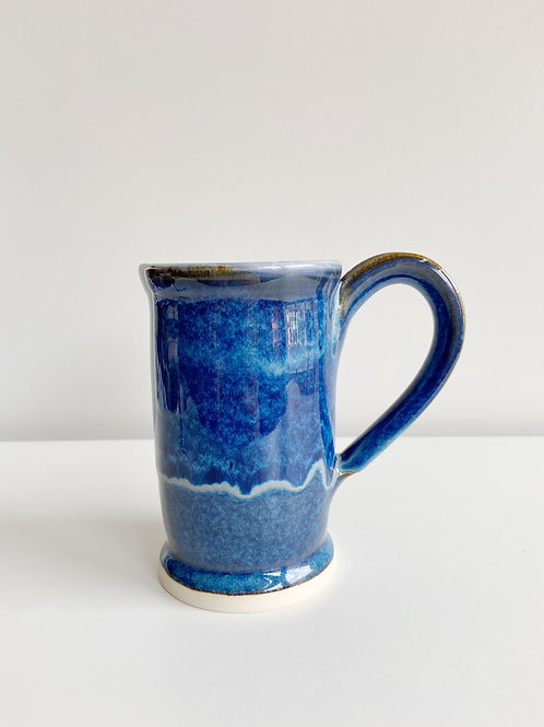 Tall Blue Mug | Pieter Ijsselstein