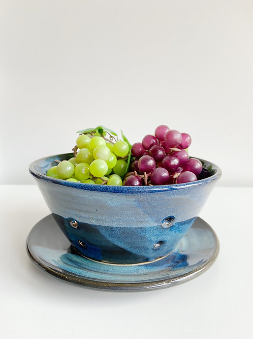 Denim Berry Bowl | Anderson Pottery
