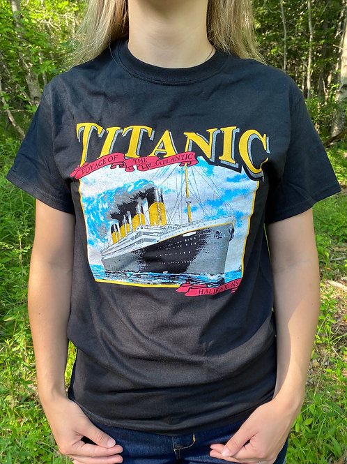 Titanic Black T-Shirt   Tall Ships Trading Co.