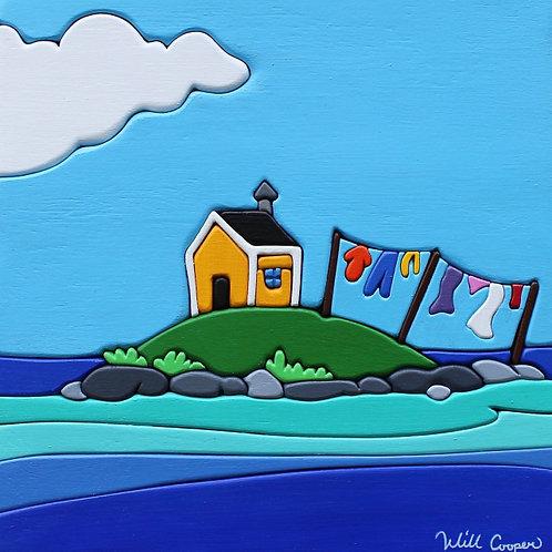 Little House, Big Sea Print   Will Cooper