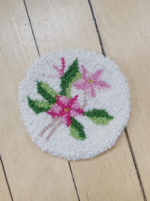 Mayflower Coaster | Cheticamp Rug Hooking