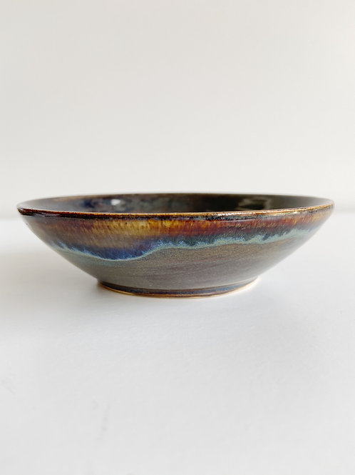 Northern Lights Saucer   Anderson Pottery