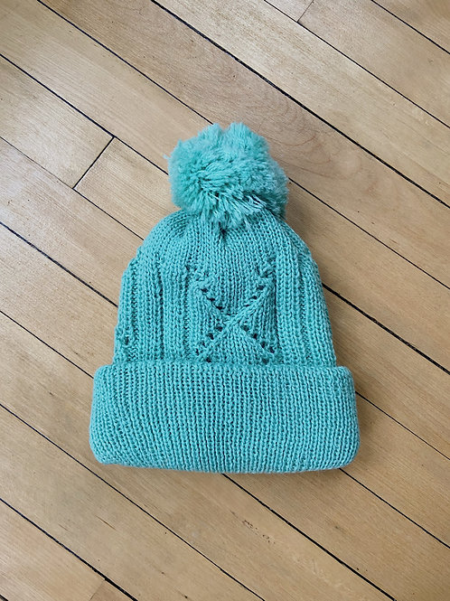 Traditional Pattern Toque - Turquoise | NWK