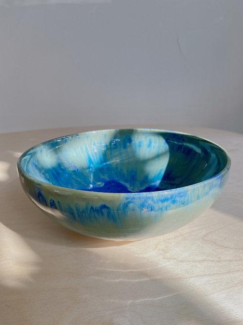 Surf Medium Bowl   Kym's Pottery Studio