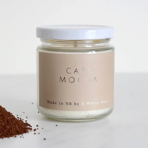 Cafe Mocha Candle | A White Nest