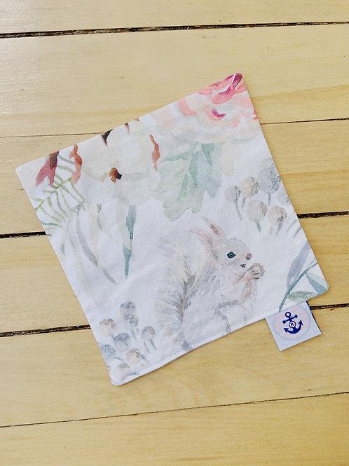 Baby Sensory Paper | Floral Woodland Animals | RoseBay Quilts