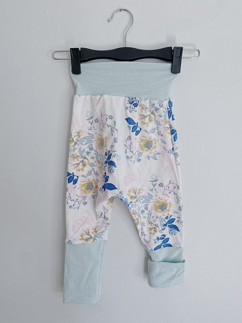 Grow-With-Me Pants | Seafoam + Soft Floral | Saelvage