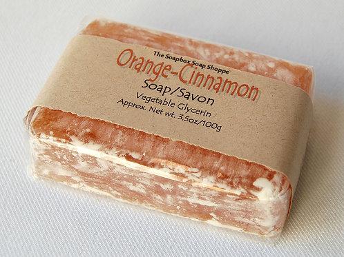 Orange Cinnamon Soap | The Soapbox Soap Shoppe