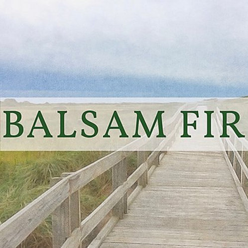 Balsam Fir Candle | New Scotland Candle Co.