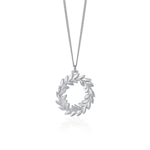 Wreath Necklace | Amos Pewter