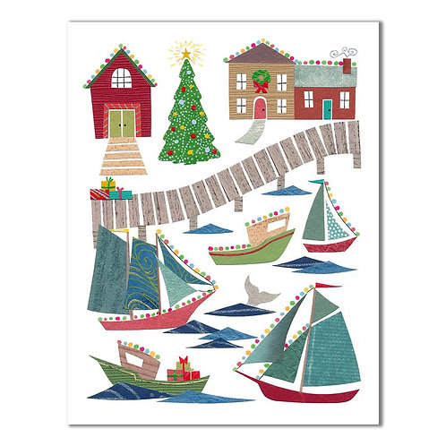 Harbour Lights Card | Cards by Kate