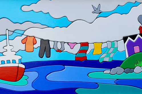 Maritime Clothesline | Will Cooper