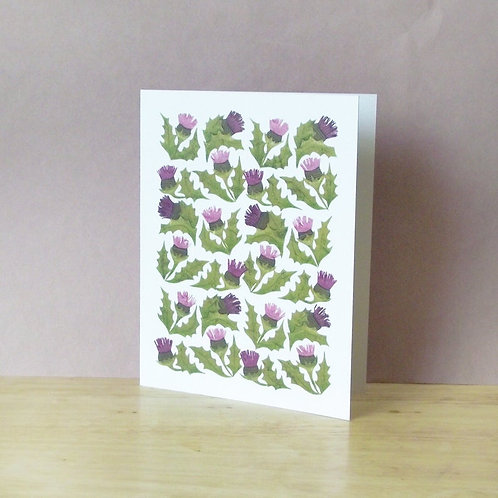 Thistles Card | Cards by Kate