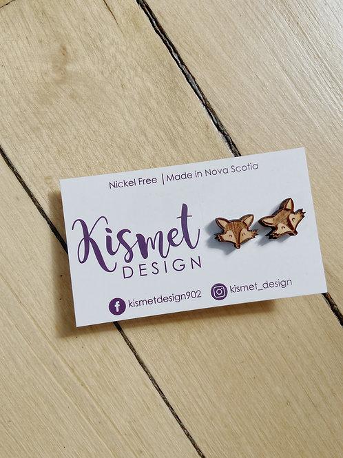 Fox Earrings | Kismet Design