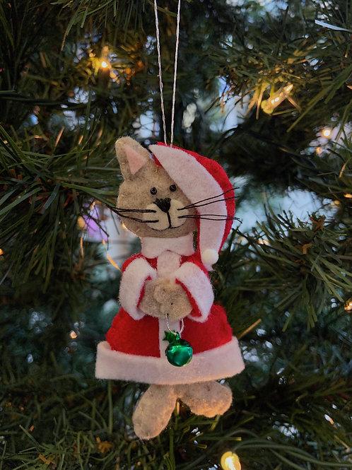 Santa Cat Ornament | Rosemary Taylor