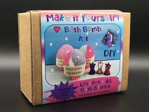 DIY Unicorn Bath Bomb Kit | Genius Premium Craft Boxes