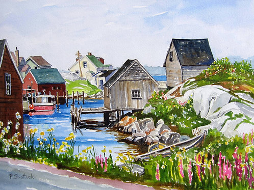 Downtown Peggy's Cove | Pat Shattuck