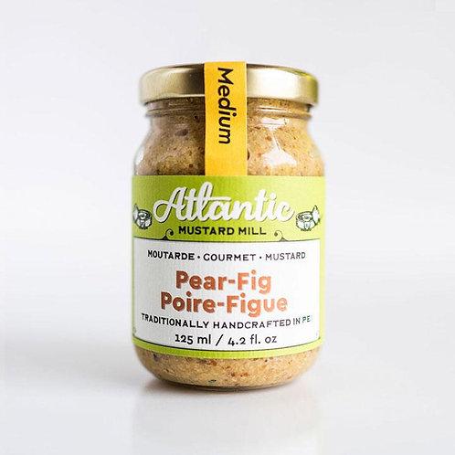Pear Fig Mustard | Atlantic Mustard Mill