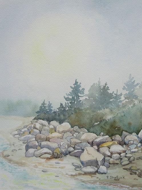 Shining Through- Original Painting   Pat Shattuck