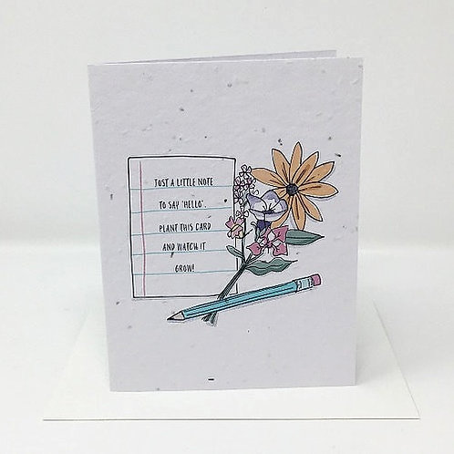 Watch it Grow- Wildflower Seed Card | Jill + Jack Paper