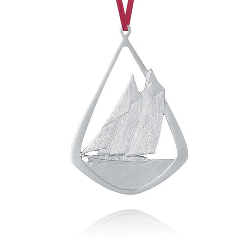 Bluenose Ornament | Amos Pewter