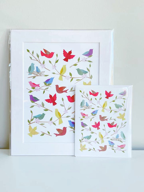 Songbirds | Cards by Kate