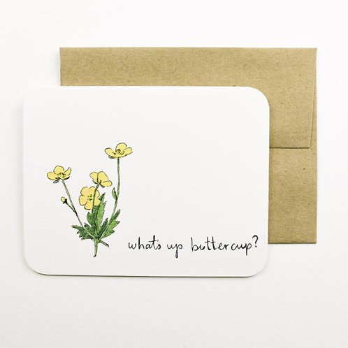 Buttercup Card | Field Day Paper