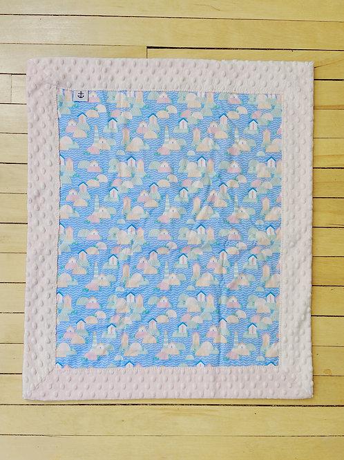 Minky Blanket | Lighthouse Village | RoseBay Quilts