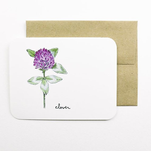 Clover Card | Field Day Paper