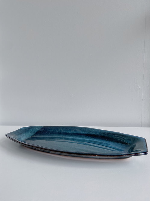 Sea Blue Tray | Sea Winds Pottery