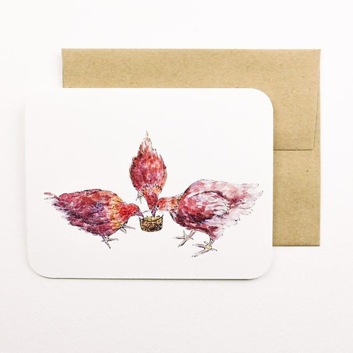 Hens Card | Field Day Paper