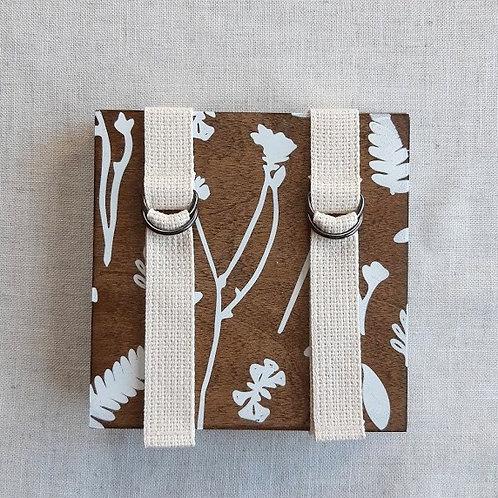 Walnut Floral Flower Press   Oake Living