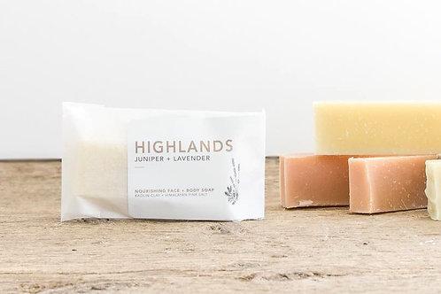 Highlands Mini Soap | Balsam Fir + Birch | Wildwood Creek