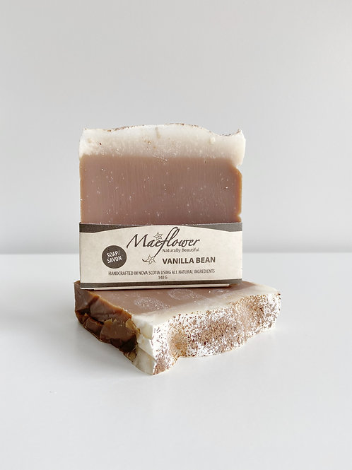 Vanilla Bean Soap | Maeflower + The Way Botanicals