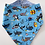 Thumbnail: Reversible Bandana Bibs | Nautical