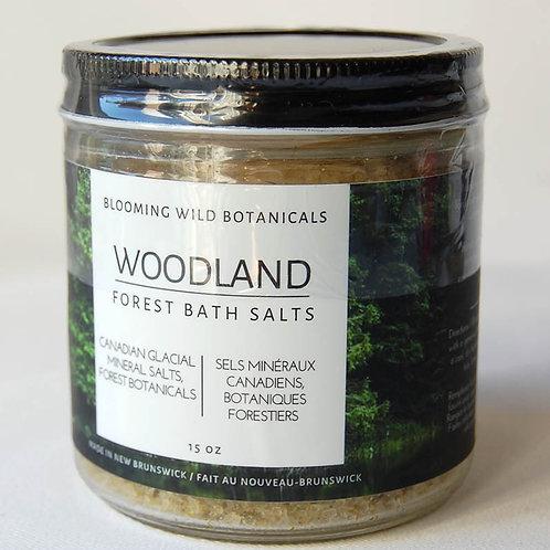 Woodland Glacial Bath Soak | Blooming Wild Botanicals