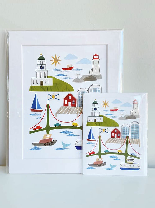 Halifax, Nova Scotia | Cards by Kate