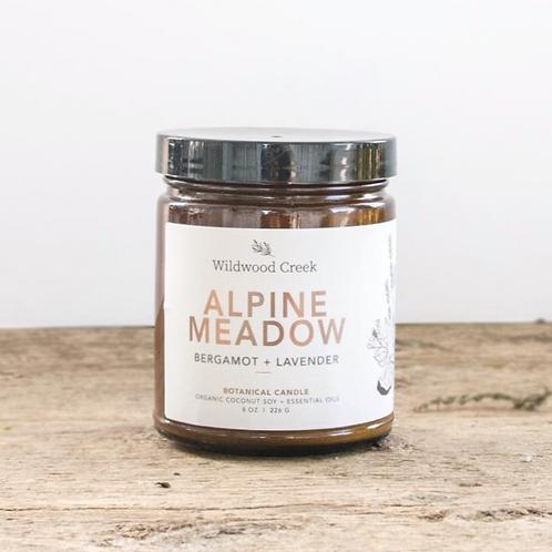 Alpine Meadow Candle   8oz   Wildwood Creek