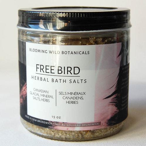 Freebird Canadian Glacial Bath Salts | Blooming Wild Botanicals