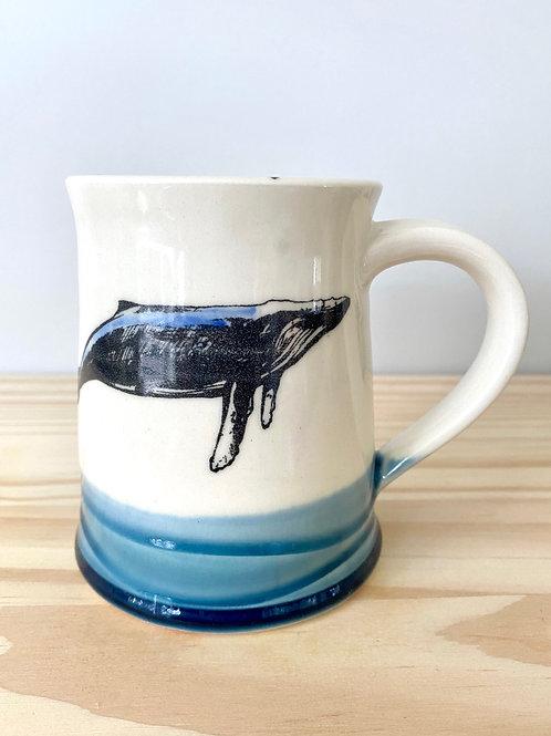 Whale Mug   Eastwood Pottery
